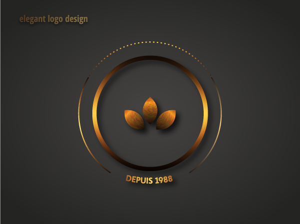 elegant logo design trefl