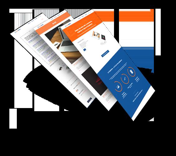 design web publicité en ligne